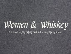 The woman drinking the whiskey is the smart bet…. Girl Quotes, Woman Quotes, Me Quotes, Funny Quotes, Funny Drinking Quotes, Irish Quotes, Drunk Quotes, Funny Memes, Whiskey Girl
