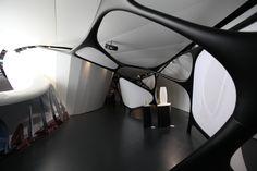 Interior detail of Modern Art Pavilion by Zaha Hadid Architects