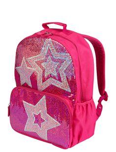 Sequin Stars Backpack | Backpacks | Backpacks & School Supplies | Shop Justice