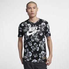 9bbc78566 Nike NSW Floral Tee Adidas Shirt, Nike Sportswear, Button Down Shirt,  Jordans,