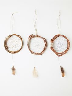 dream catchers/vine circles (could be used for weaving, too.)