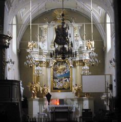 roman catholic church interior church st ann catholic church of believers be even