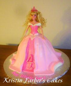 Sleeping Beauty- Princess Aurora - Kristin's Cakes