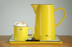 Cabanaz enamel-look vintage ceramic series