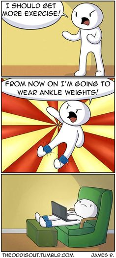 Theodd1sout :: How to exercise | Tapastic - image 1