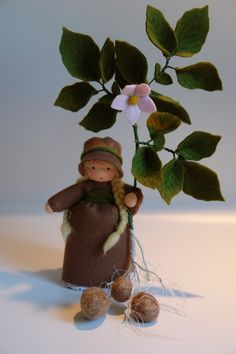 Potato - Flower Child - Waldorf Inspired - Nature Table. €38.00, via Etsy.