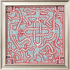 Untitled, 1989 Giclee Print by Keith Haring at Art.com