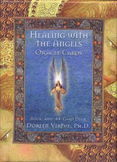 Healing With The Angels Doreen Virtue oracle deck box1