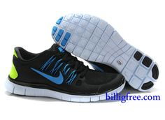 Nike Free 5.0 Blaue Sohle