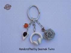 My Things Keychain by DeemakTwins on Etsy