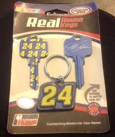 Nascar Jeff Gordon # 24 House Keys (KW10 , KW1 )