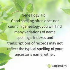What is the most creative misspelling you've come across?  #USHistory #History #ancestry #genealogy #familyhistory #heritage #roots #ancestors