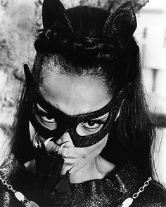 Eartha Kitt - Catwoman...one of my favorite portraits of catwoman, Eartha Kitt was amazing!