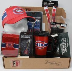 Fan-gear gift box of 6 Montreal Canadians Products, best gift of NHL licensed team souvenirs, Fan-gear at GREAT VALUE! Canada's sports gift boxes, combos available in CAD or build your OWN BOX! Certificate Of Achievement, Window Graphics, Sports Gifts, Fan Gear, Montreal, Nhl, Best Gifts, Fans, Content