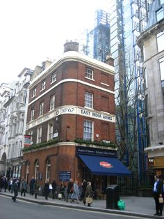 East India Arms, Fenchurch St