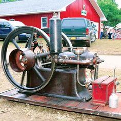 A rare 6 hp Goold, Shapely