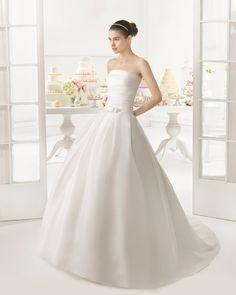 Orlando vestido de novia Aire Barcelona