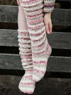 Discover thousands of images about Novita Talvi Novita Venla Nature, Novita Venla, Ruttusukat Cable Knit Socks, Wool Socks, Knitting Socks, Slouch Socks, Crochet Patterns For Beginners, Knitting Patterns, Baby Blanket Crochet, Crochet Baby, Hand Crochet