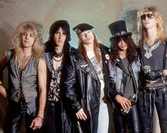 Celebrity Photos of the World: Guns' N Roses: Sweet Child O Mine
