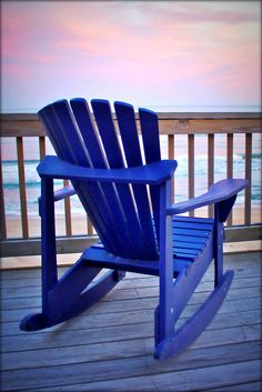 Blue Rocking Chair - different color but love the style