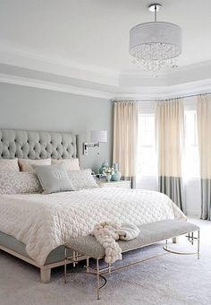 Paire de panneaux de Rideau lin de couleur ivoire et gris-bloc, colorblock rideaux, fenetre,
