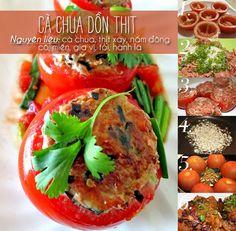 Món ăn cà chua dồn thịt ngon đến lạ - http://congthucmonngon.com/42561/mon-ca-chua-don-thit-ngon-den-la.html