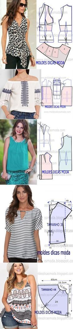 Amazing Sewing Patterns Clone Your Clothes Ideas. Enchanting Sewing Patterns Clone Your Clothes Ideas. Diy Clothing, Sewing Clothes, Clothing Patterns, Dress Patterns, Sewing Patterns, Sewing Hacks, Sewing Tutorials, Sewing Projects, Diy Fashion