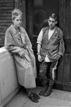 """Leicester Square 1980"" from the London Youth series...punk rockers /subculture"