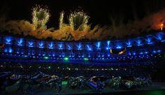 Impressive splendid olympic Opening Ceremony RIo 2016