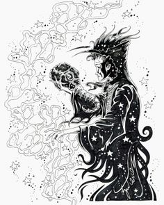 Hand drawn beauty featuring Neil Gaiman's character The Sandman.  Artist Dave Gutierrez is a huge fan of the series and his love of the character shows in this superb drawing.  $200
