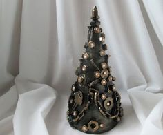 Creative Christmas Tree in the Style of Steampunk