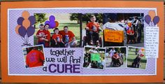Scrapping My Blessings: Together We Will Find a CURE