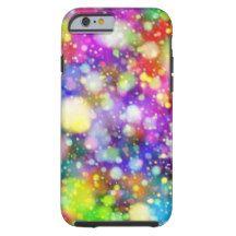 Colorful Dots Pattern iPhone 6/6s, Tough Tough iPhone 6 Case