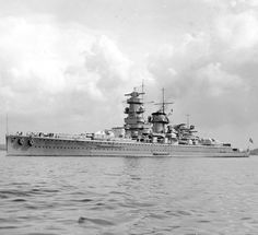 """Admiral Graf Spee - just lovely lines. Good movie...""""battle of The River Plate"""""""