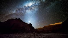 A stunning view from the Atacama region of Chile, taken from a time-lapse video created by Nicholas Buer.