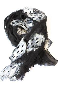 """If you want to be artsy this is the perfect wrap or accent scarf! Wrap yourself in soft silk chiffon for any any occasion whether it be daytime casual or evening. Soft and light weight.    Measurements:90"""" L x 20"""" W   Sheer Artsy Scarf by Bijoux du Monde. Accessories - Scarves & Wraps District of Columbia"""