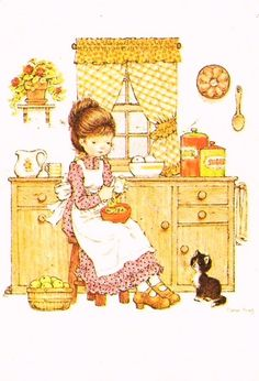 Sa-mi pun si eu un tablou cu Sarah Kay la bucatarie :) Holly Hobbie Sarah Key, Hobbies For Women, Hobbies To Try, Cute Images, Cute Pictures, Mary May, Hobby Photography, Hobby Horse, Holly Hobbie