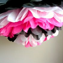 Bachelorette Tissue Paper Pom Pom Decoration