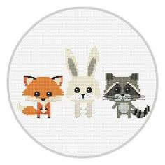 Hey, I found this really awesome Etsy listing at https://www.etsy.com/listing/492123624/animals-cross-stitch-pattern-for-baby