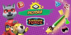 Kingdom Force Pictorii Looney Tunes, Scooby Doo