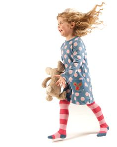 Tunic Dress Spotty- we love tunics here and this is my AW12 top pick, the spots are the softest of pink and if you got the tights with the smocked dress you can double up here- bonus! it's nice and long and looks great with boots. 20% off, free uk del with code EMILYS