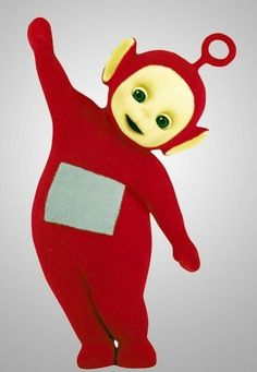 """Teletubbies Poe...persons my second favorite ( Laa-Laa, #1)... I loved Po n his scooter n his (?) oh-so subtle """"ride it, ride it....""""  :))))"""