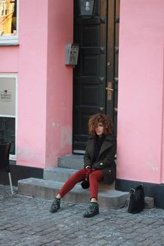 Christina Caradona wears our Nory Small Giraffe creepers. We love Christina in this style!