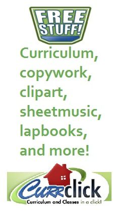 In addition to paid materials, CurrClick has a huge collection of free materials...over 800 items.