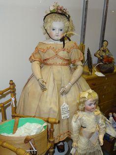 DSC00074   by doll barber Antique French Huret doll full shot