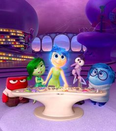 "Every character from Disney Pixar""s Inside Out is a vital component to our children""s lives and development. Be sure to bring it home to your family on Disney Movies Anywhere Oct 13 and on Blu-ray Nov 3."
