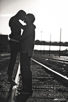 You know this girl loves a railroad photo shoot
