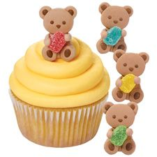 Bear and Gum Drop Icing Decoration from Wilton