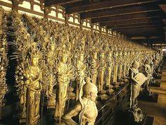 三十三間堂 - Sanjusangen-do, a Buddhist temple in Higashiyama District of Kyoto