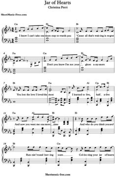 valentine piano sheet pdf